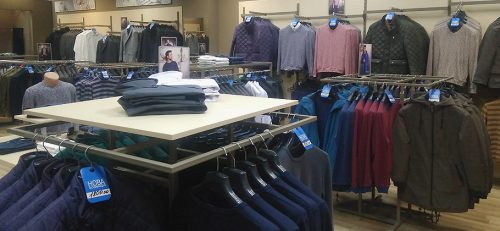 Магазин стильной мужской одежды W.E. Разнообразный ассортимент мужской одежды – от классики до Casual.