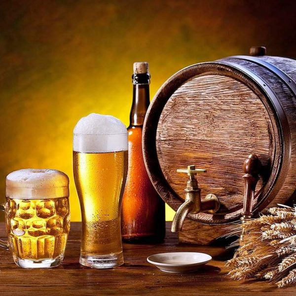 BeerMarket в ТОЦ ДАРНИЦА. Разливное пиво, закуски, азовская тарань.